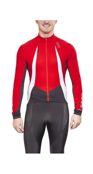 GORE BIKE WEAR OXYGEN WS Jersey Long Men red/black